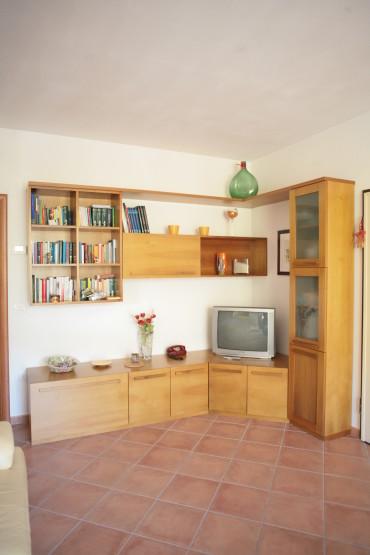 ArredoLegno sas realizza mobile soggiorno